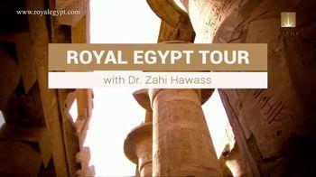 Archaeological Paths TV Spot, 'Royal Egypt Tour with Dr. Zahi Hawass' - Thumbnail 2