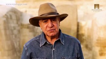 Archaeological Paths TV Spot, 'Royal Egypt Tour with Dr. Zahi Hawass'