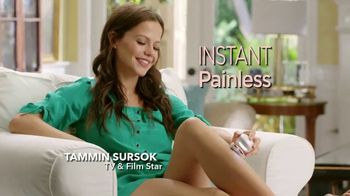 Finishing Touch Flawless Legs TV Spot, 'Instant and Painless Hair Removal' - 1636 commercial airings
