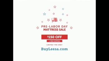 Leesa Pre-Labor Day Mattress Sale TV Spot, 'All About My Bed' - Thumbnail 8