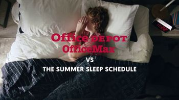 Office Depot TV Spot, 'Summer Sleep Schedule: Case Paper'