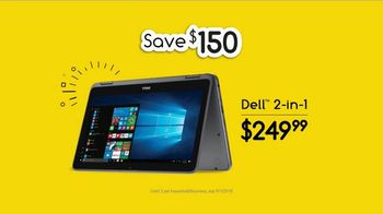 Office Depot TV Spot, 'Emotional Drop Off: Dell 2-in-1' - 1155 commercial airings