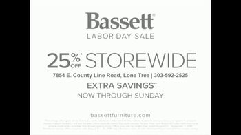 Bassett Labor Day Sale TV Spot, 'Spruce Up Your Space' - Thumbnail 10