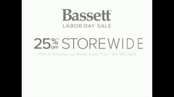 Bassett Labor Day Sale TV Spot, 'Spruce Up Your Space' - Thumbnail 9