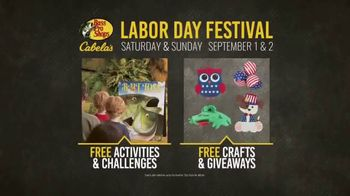 Bass Pro Shops Labor Day Sale & Festival TV Spot, 'Free Kids' Activities' - Thumbnail 8