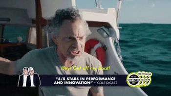 VICE Golf TV Spot, 'On a Boat' Featuring Erik Lang - Thumbnail 4
