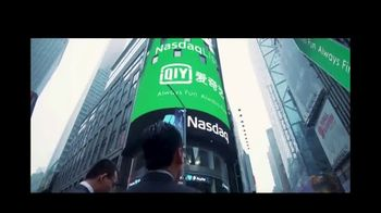 NASDAQ TV Spot, 'IQIYI Inc' - Thumbnail 3
