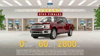 Ford Gran Venta de Verano TV Spot, 'Días finales' [Spanish] [T2] - Thumbnail 6