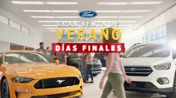 Ford Gran Venta de Verano TV Spot, 'Días finales' [Spanish] [T2] - 516 commercial airings