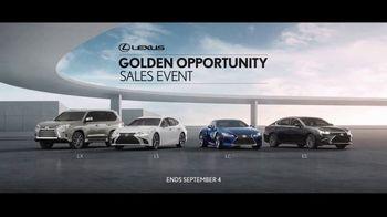 Lexus Golden Opportunity Sales Event TV Spot, 'Higher Standard' [T2] - Thumbnail 4