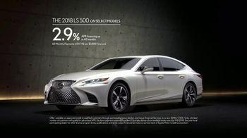 Lexus Golden Opportunity Sales Event TV Spot, 'Higher Standard' [T2] - Thumbnail 5