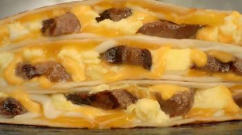 Taco Bell $2 Steak & Egg Stacker TV Spot, 'Three Layers High'