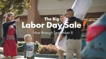 Big Lots Big Labor Day Sale TV Spot, 'Serta'