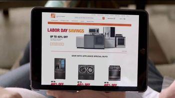 The Home Depot Labor Day Savings TV Spot, 'Lavadora y secadora' [Spanish] - Thumbnail 2