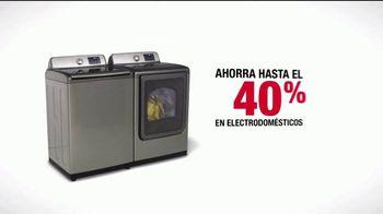 The Home Depot Labor Day Savings TV Spot, 'Lavadora y secadora' [Spanish] - Thumbnail 7