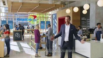 Capital One Cafés TV Spot, 'Refreshing' - Thumbnail 8
