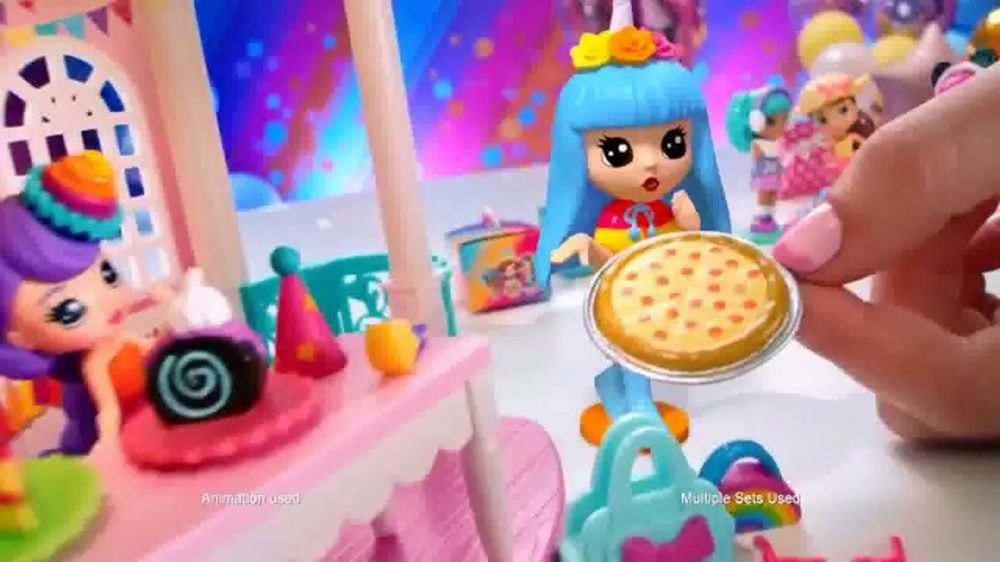 Party Pop Teenies Poptastic Party Playset Tv Commercial