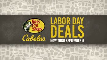 Bass Pro Shops Labor Day Deals TV Spot, 'Apparel, Fishing Reel and Smoker' - Thumbnail 7