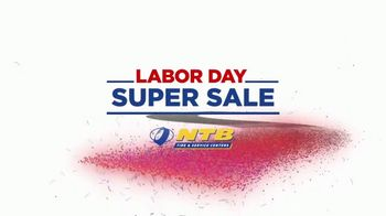 National Tire & Battery Labor Day Super Sale TV Spot, 'Hit the Road'