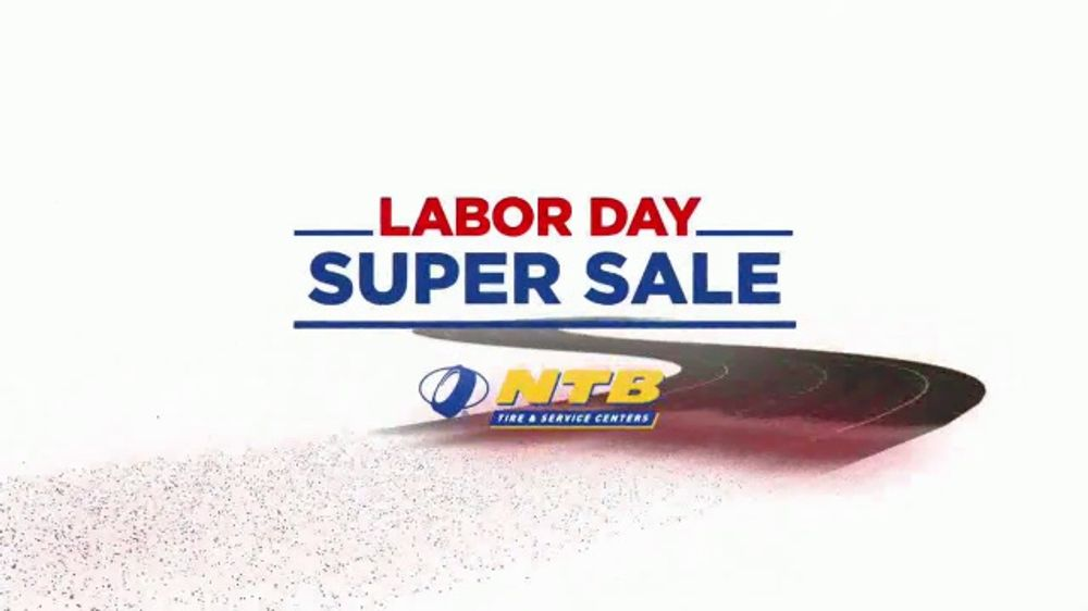 National Tire & Battery Labor Day Super Sale TV Commercial, 'Buy Two, Get Two Free'