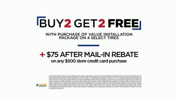 National Tire & Battery Labor Day Super Sale TV Spot, 'Buy Two, Get Two Free' - Thumbnail 8
