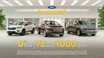 Ford Summer Sales Event TV Spot, 'Trout' Song by American Authors [T2] - Thumbnail 9