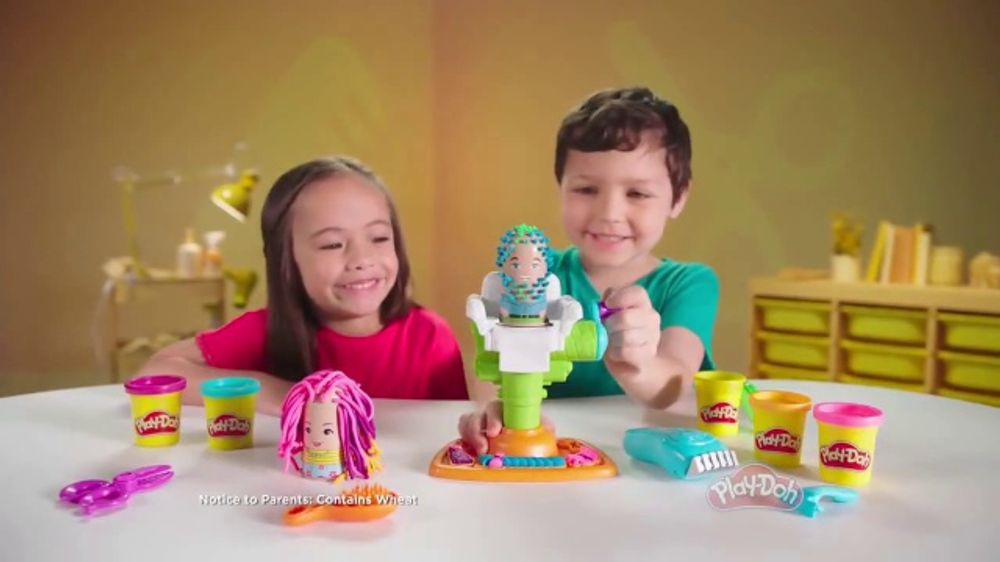 cff2e191c06 Play-Doh Buzz 'n Cut Playset TV Commercial, 'Every Day Is Crazy Hair Day' -  iSpot.tv