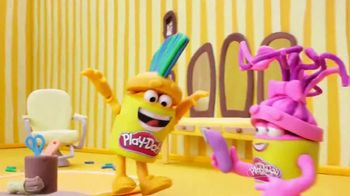 Play-Doh Buzz 'n Cut Playset TV Spot, 'Every Day Is Crazy Hair Day' - Thumbnail 2