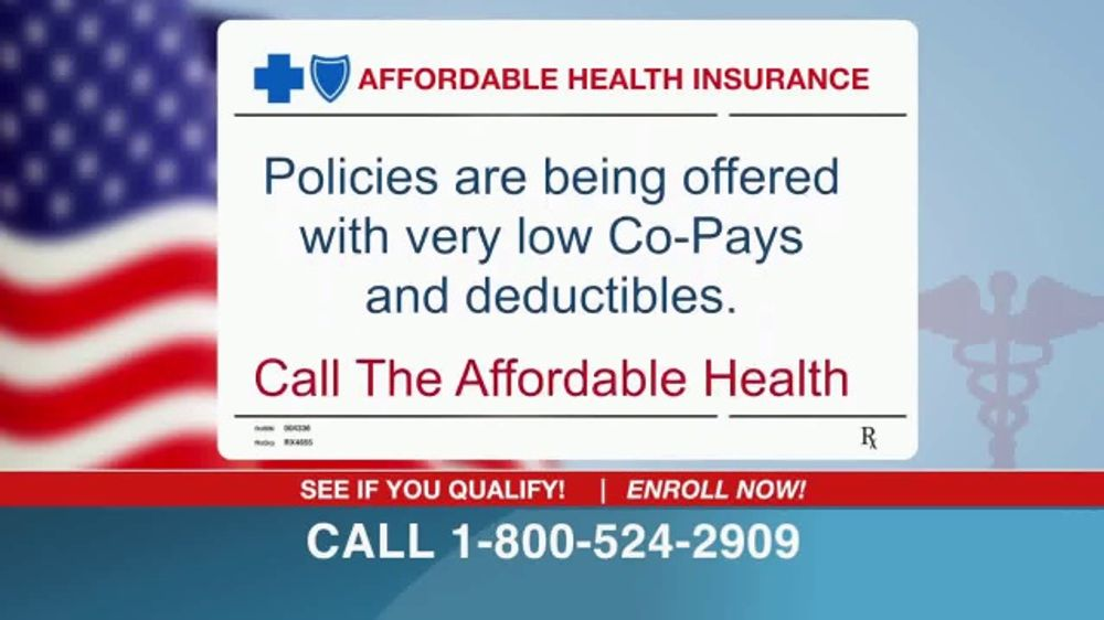 Affordable Health Insurance >> The Affordable Health Insurance Hotline Tv Commercial Law Has
