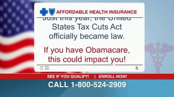 The Affordable Health Insurance Hotline TV Spot, 'Law Has Changed' - Thumbnail 2
