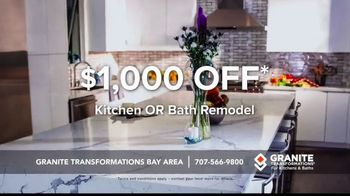 Granite Transformations TV Spot, 'Make Your Dreams a Reality' - Thumbnail 8