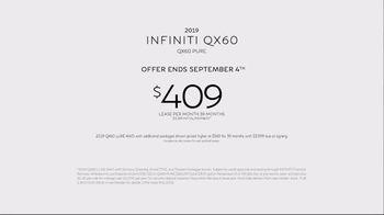 Infiniti Start Your Own Legacy Summer Event TV Spot, 'Germany: QX60' [T2] - Thumbnail 9
