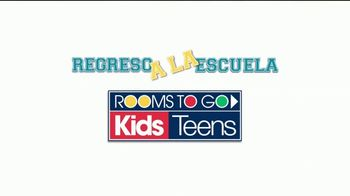 Rooms to Go La Venta Regreso a la Escuela TV Spot, 'A tiempo' [Spanish] - Thumbnail 1