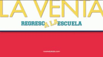 Rooms to Go La Venta Regreso a la Escuela TV Spot, 'A tiempo' [Spanish] - Thumbnail 6
