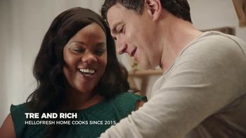 HelloFresh TV Spot, 'Stories from Real Customers: Tre and Rich: $60'