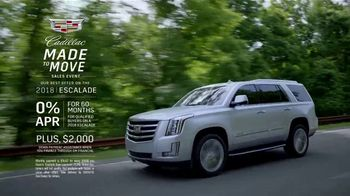 Cadillac Made to Move Sales Event TV Spot, '2018 Escalade' [T2] - Thumbnail 7