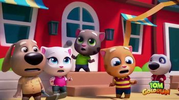 Talking Tom Gold Run TV Spot, 'Chase the Robber'