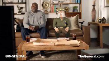 The General App TV Spot, 'Watching TV' Featuring Shaquille O'Neal - Thumbnail 1