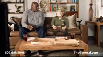 The General App TV Spot, 'Watching TV' Featuring Shaquille O'Neal - Thumbnail 2