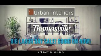 Urban Interiors & Thomasville Big Labor Day Sale TV Spot, 'All on Sale' - Thumbnail 2