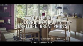 Urban Interiors & Thomasville Big Labor Day Sale TV Spot, 'All on Sale' - Thumbnail 5
