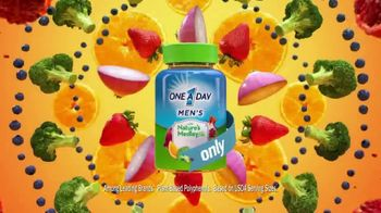 One A Day Men's With Nature's Medley TV Spot, 'Fruits and Vegetables'