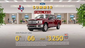 Ford Summer Sales Event TV Spot, 'Favorite Boat' Song by American Authors [T2] - Thumbnail 8