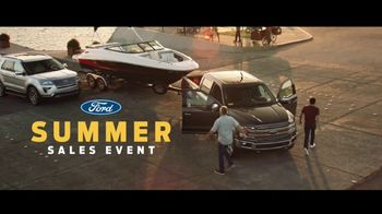 Ford Summer Sales Event TV Spot, 'Favorite Boat' Song by American Authors [T2] - 1166 commercial airings