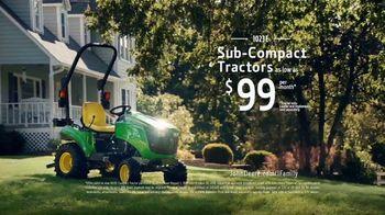 John Deere TV Spot, 'Home: 1023E Sub-Compact Tractors' - Thumbnail 10