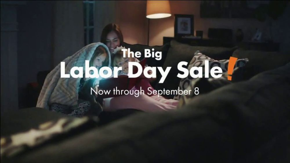 big lots big labor day sale tv commercial loveseats sofas and sectionals ispottv - Big Lots After Christmas Sale