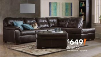 Big Lots Big Labor Day Sale TV Spot, 'Loveseats, Sofas and Sectionals' - Thumbnail 5