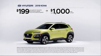 Hyundai Epic Summer Sales Event TV Spot, 'Kona: The Right Size' [T2] - Thumbnail 5