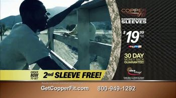 Copper Fit Compression Sleeves TV Spot, 'Pain Is Not an Option' - Thumbnail 10