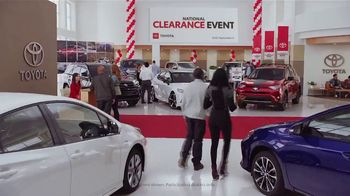 Toyota National Clearance Event TV Spot, 'Remaining 2018s' [T2] - Thumbnail 1